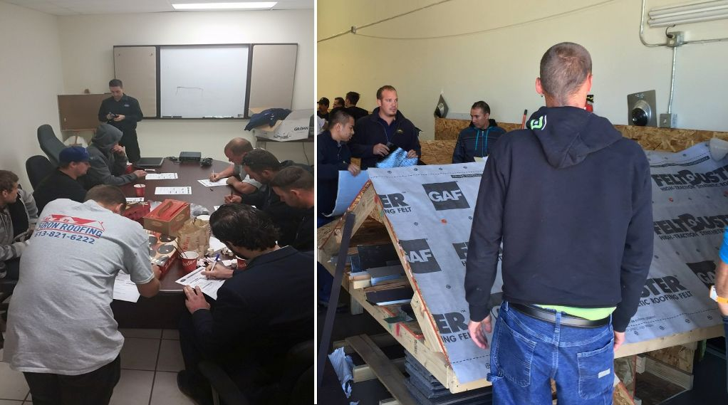 Firon Roofing Ottawa - education at GAF